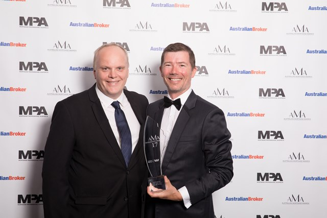 Pepper Money broker of the year Specialist Lending - Robinson Sewell Partners - Ian Robinson -Brett Conway